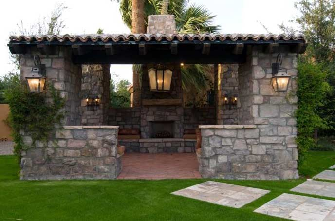 outdoor fireplace designs pictures. Covered Outdoor Fireplace