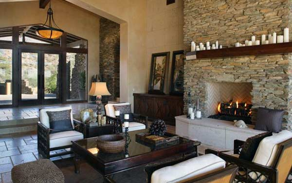 Indoor Fireplace Design