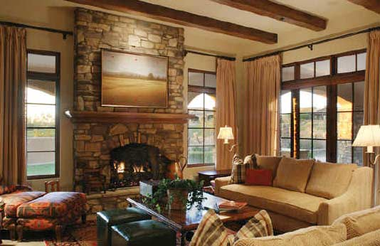 Bijayya home interior design living room fireplace design - Fireplace living room ideas ...