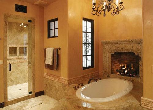 Bathroom Fireplace Indoor Outdoor Fireplace Designs