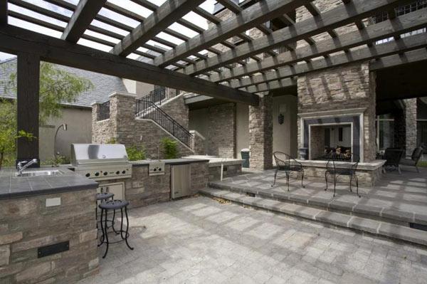 Outdoor Fireplace Indoor Outdoor Fireplace Designs